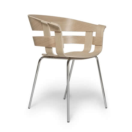 Design House Stockholm - Wick Chair Wood, oak