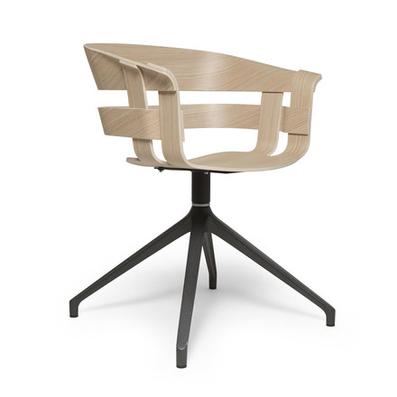 The Wick Chair Wood by Design House Stockholm in oak wood