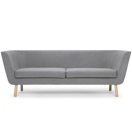 Nest Sofa by Design House Stockholm in light grey