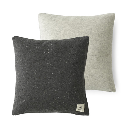 The Color Pillow from the Menu - Nepal projects in dark grey / light grey