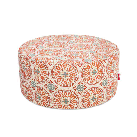 Pfffh outdoor pouf by Fatboy in orange