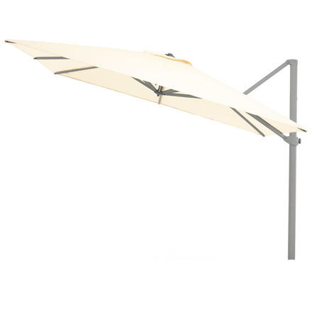 Rectangular Hanging Parasol Ø 350cm by Weishäupl made from Dolan nature