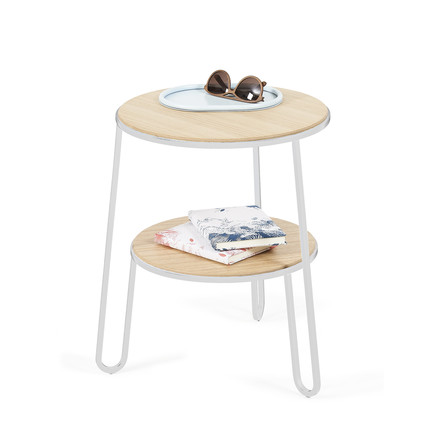 Anatole side table by Hartô in white (RAL 9016)