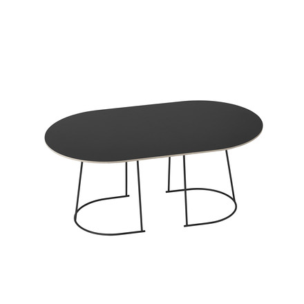 The Airy Coffee Table, medium in black by Muuto