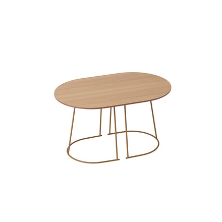 The Airy Coffee Table, small in oregon pine by Muuto