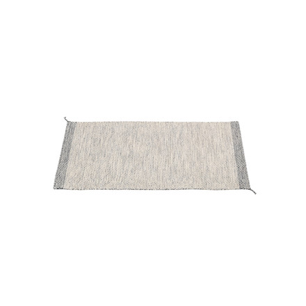The Ply rug 85 x 140cm in white by Muuto