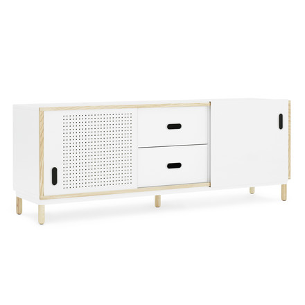 Kabino Sideboard with drawers by Normann Copenhagen in white