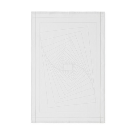 Normann Copenhagen - Illusion Tea Towels, white