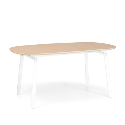 Céleste Dining Table 180 cm by Hartô in oak / white