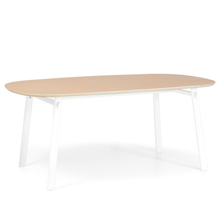Céleste Dining Table 220 cm by Hartô in oak / white