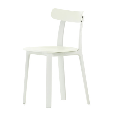 The All Plastic Chair in white by Vitra
