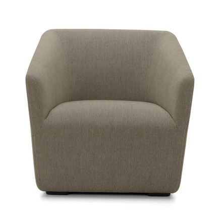 Occasional Lounge Chair from Vitra in grey (Warmgrey 05)