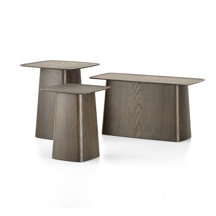 Wooden Side Table from Vitra in walnut