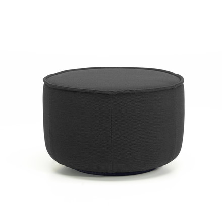 Medium Mariposa Ottoman from Vitra in anthracite (Laser 03)