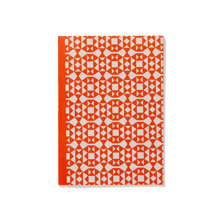 Facets A5 Softcover Notebook from Vitra in orange