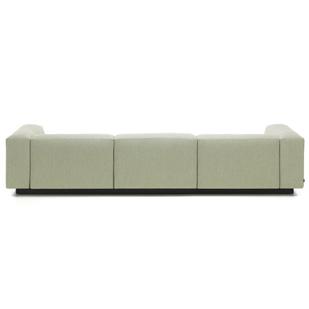 Soft Modular 3-seater sofa from Vitra