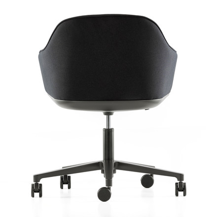 Softshell Chair with five-star base from Vitra