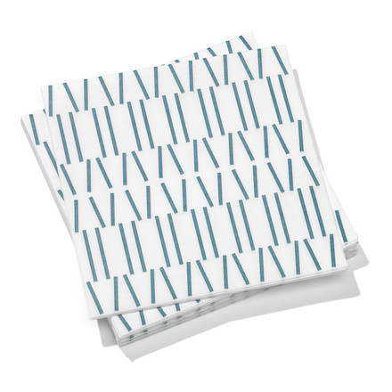 Vitra - Paper Napkins large, Broken Lines, grey blue