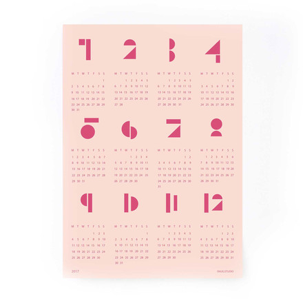 Snug.toyblocks Wall Calendar 2017 by Snug.Studio