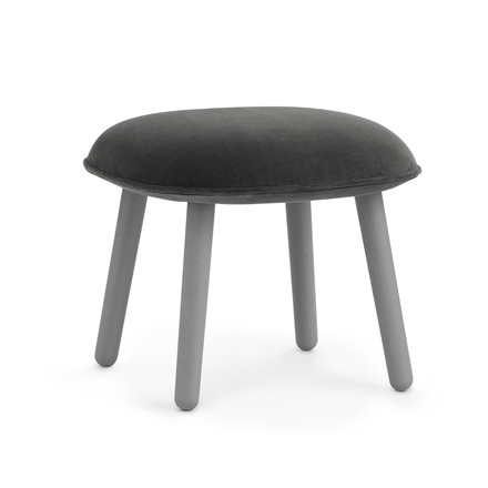 Ace Footstool Velour from Normann Copenhagen in grey