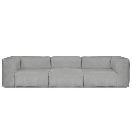 Hay - Mags Soft Sofa, 3-Seater, Hallingdal 130 light grey