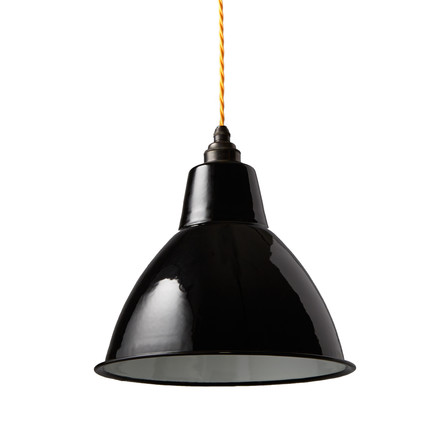 The Nook London - Small Dome Lampshade in black