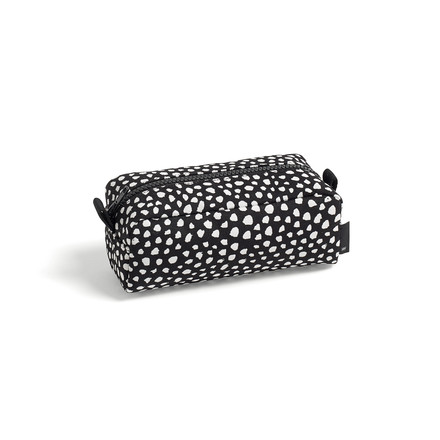 The Hay - Dot Wash Bag, S in black