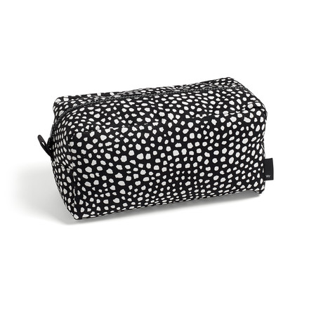The Hay - Dot Wash Bag, L in black
