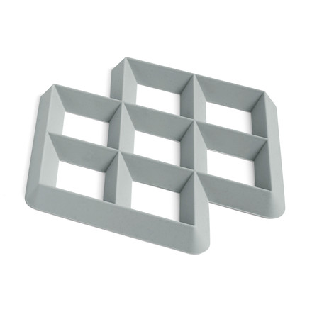 Hay - Rhom Trivet, light grey