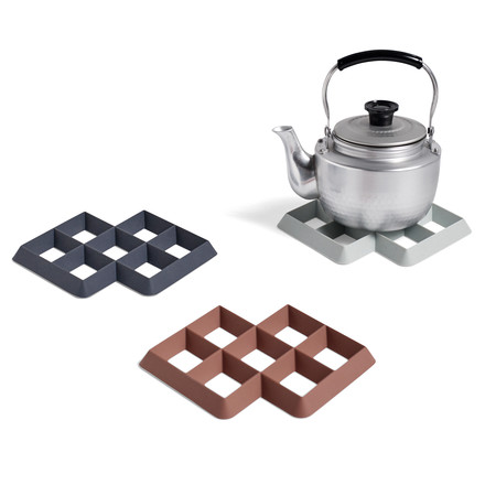 Practical silicone trivet in various colours