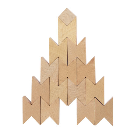 The Hay - Twins set of 16, beech