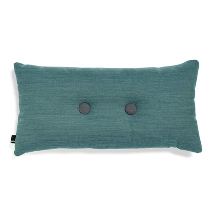 Hay - 2x2 Dot Cushion 70 x 36cm, aqua