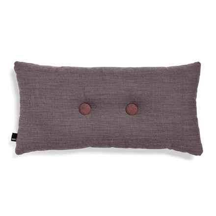 Hay - 2 x 2 Dot cushion 70 x 36cm, greyish burgundy