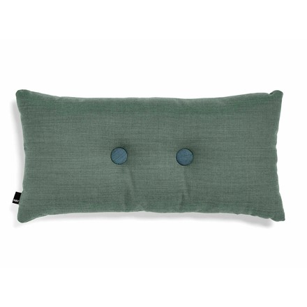 Hay - 2 x 2 dot cushion 70 x 36cm, lime