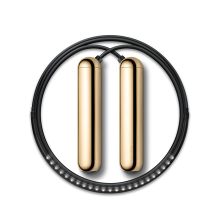 Smart Rope Skipping Rope by Tangram in Gold
