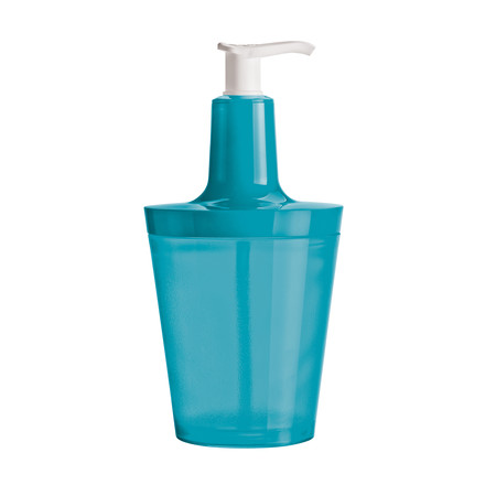 Koziol - Flow Soap Dispenser, turquoise