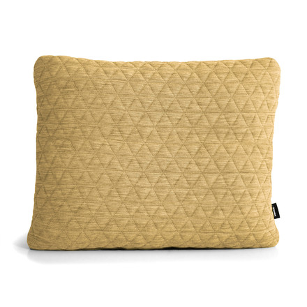 Triangle Cushion 55 x 45 cm by bruunmunch in banana yellow
