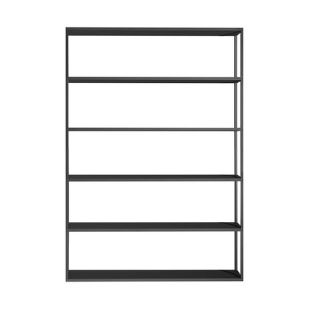 The Hay - New Order Shelf 150 x 180cm in charcoal black