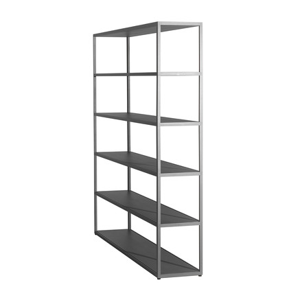 The Hay - New Order Shelf 150 x 180cm in grey
