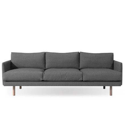 3-seater Emo by bruunmunch with Kvadrat fabric Rustic 136