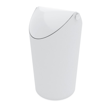 Jim Rubbish Bin from Koziol in White