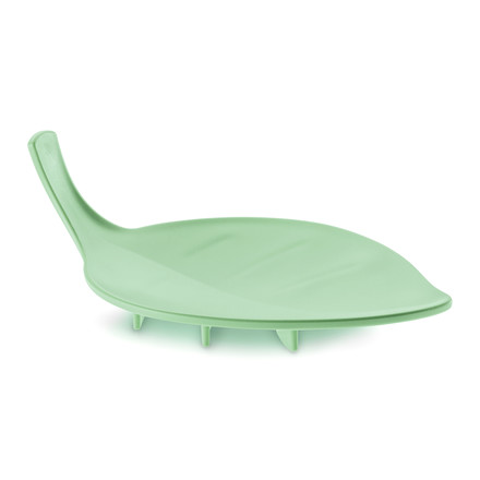 Sense Soap Dish from Koziol in solid mint