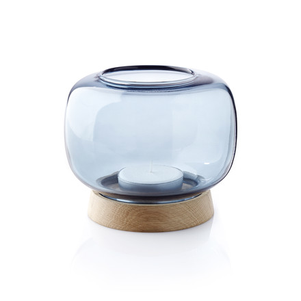 The applicata - Hurricane Tealight Holder maxi in blue