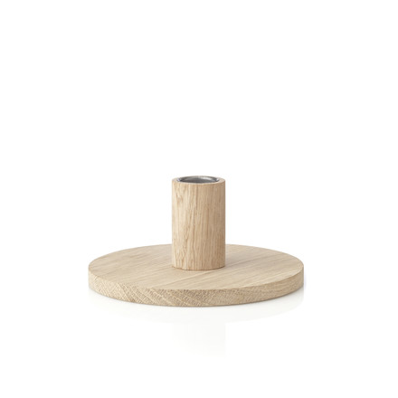 The applicata - Simplicity Candleholder S in oak