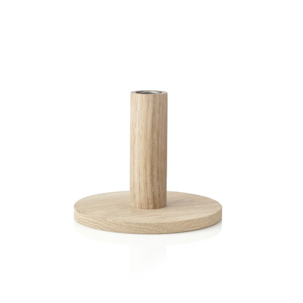 The applicata - Simplicity Candleholder M in oak