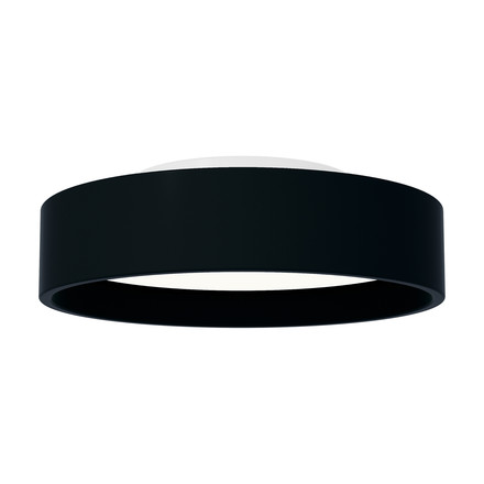 LP Circle mounted lamp ø 450 by Louis Poulsen in black