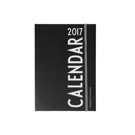 The calendar 2017, A5 by Design Letters