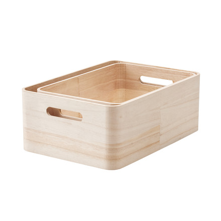 Save-It Storage Boxes 2 pcs. L, XL from Rig-Tig by Stelton
