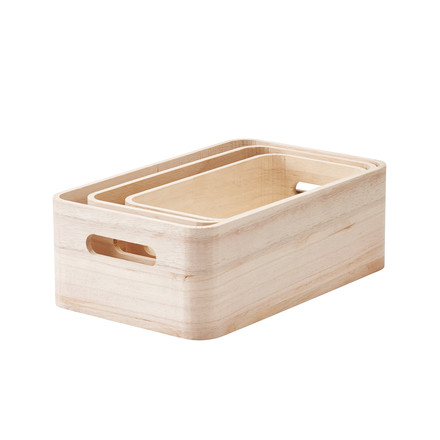 Save-It Storage Boxes 3 pcs. XS, S, M from Rig-Tig by Stelton