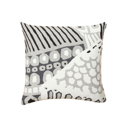 Marimekko - Kumiseva Cushion Cover 50 x 50 cm, white / black / grey